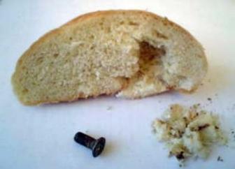 грязный хлеб